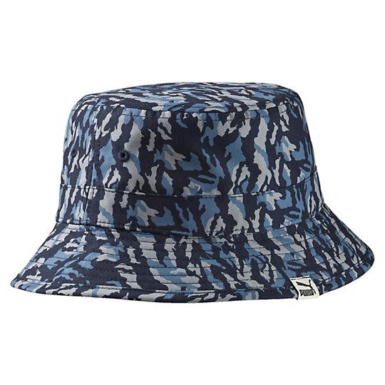 プーマ リバーシブル バケツキャップ ユニセックス peacoat-blue heaven-AOP【帽子  メンズ 帽子  その他】PUMA プーマ【サイズ SM/ブルー】メンズ  アクセサリー  帽子