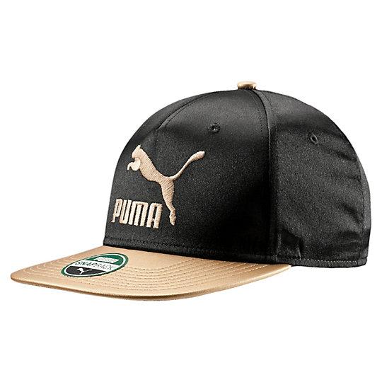 プーマ リィングサイドPPキャップ ユニセックス Puma Black-GOLD【帽子  メンズ 帽子  その他】PUMA プーマ【サイズ AD/ブラック】メンズ  アクセサリー  帽子