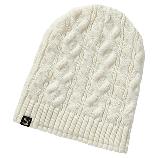 Шапка Mele cable knit beanie