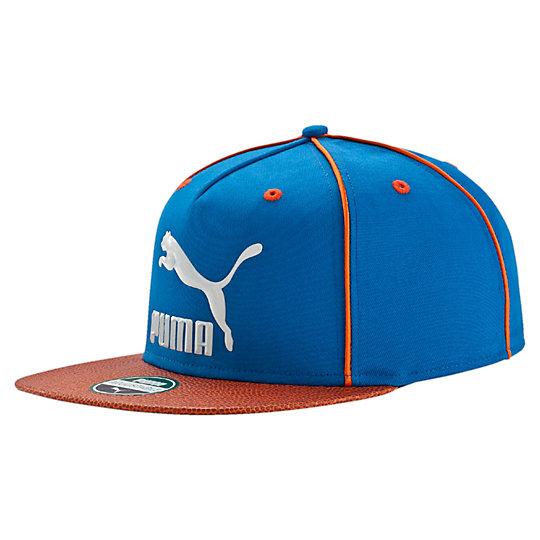 プーマ LS デラックス ストラップバックキャップ ユニセックス Puma Royal-V.Orange【帽子  メンズ 帽子  その他】PUMA プーマ【サイズ AD/ブルー】メンズ  アクセサリー  帽子