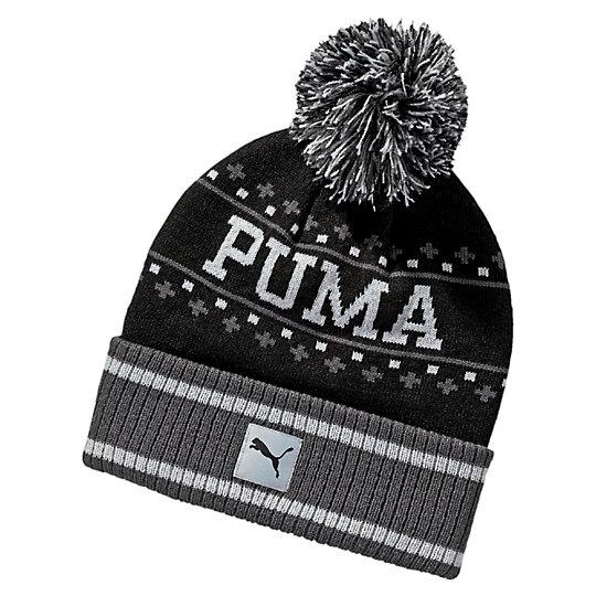 プーマ ホーム チーム ビーニー ユニセックス Puma Black-Asphalt【帽子  メンズ 帽子  その他】PUMA プーマ【サイズ KD/ブラック】メンズ  アクセサリー  帽子