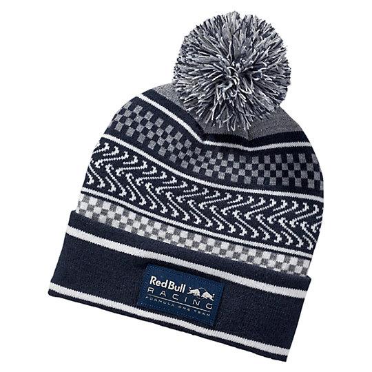 Шапка RBR LS Ugly sweater beanieГоловные уборы<br>Шапка RBR LS Ugly sweater beanie<br>Стильная шапка с помпоном и отворотом, изготовленная из двухслойного трикотажа.<br><br>Коллекция: Осень-зима 2016<br>Состав: 100% акрил<br>Логотип RBR спереди<br>Плоский вышитый логотип PUMA сзади<br>Страна-производитель: Китай<br><br><br>size RU: Взрослый<br>gender: Unisex
