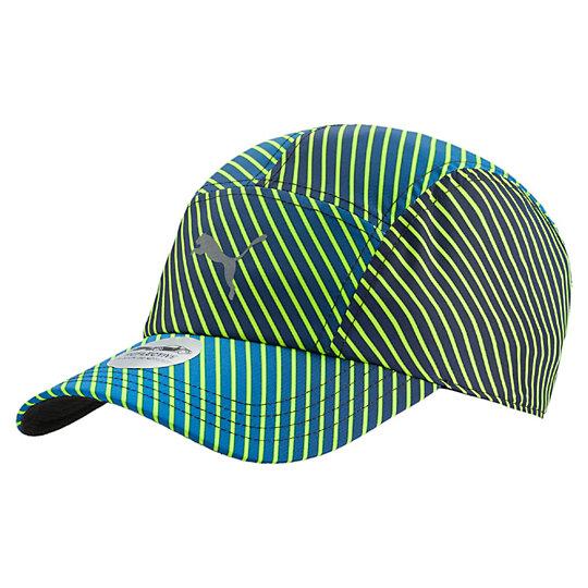 プーマ AT SPEED ランニングキャップ ユニセックス Safety Yellow-AOP【帽子  メンズ 帽子  その他】PUMA プーマ【サイズ AD/イエロー】メンズ  アクセサリー  帽子