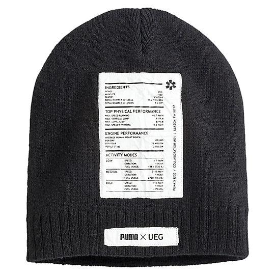 プーマ UEG ビーニー ユニセックス Puma Black【帽子  メンズ 帽子  その他】PUMA プーマ【サイズ AD/ブラック】メンズ  アクセサリー  帽子
