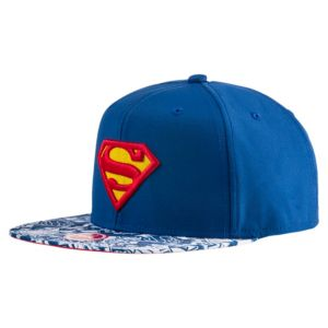 Superman Flatbrim Cap, Mono-Pop SB