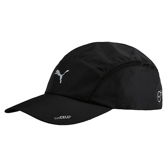 プーマ DUOCELL テックランニングキャップ ユニセックス Puma Black【帽子  メンズ 帽子  その他】PUMA プーマ【サイズ AD/ブラック】メンズ  アクセサリー  帽子