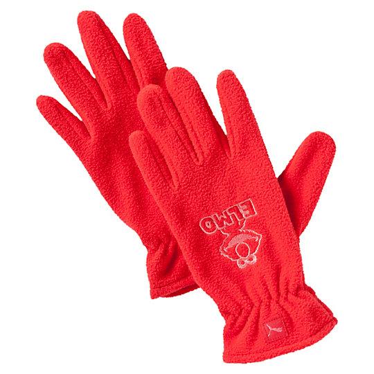 Перчатки Sesame Street GlovesАксессуары<br>Перчатки Sesame Street Gloves<br>Детские флисовые перчатки с изображением Элмо.<br><br>Коллекция: Осень-зима 2016<br>Материал: 100% полиэстер<br>Тканый логотип PUMA на каждой перчатке<br>Страна-производитель: Тайвань<br><br><br>size RU: XXS<br>gender: Unisex