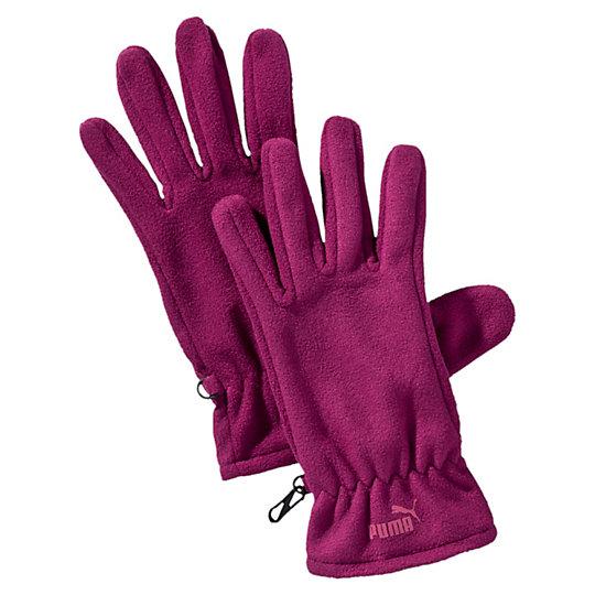 Перчатки PUMA Snow Fleece GlovesТеплые аксессуары<br>Перчатки PUMA Snow Fleece Gloves<br>Флисовые перчатки на застежке-липучке для точной подгонки по размеру, тисненый логотип PUMA No.1 из прорезиненной ткани на лицевой стороне.<br><br>Коллекция: Осень-зима 2016<br>Материал: 100% полиэстер<br>Страна-производитель: Нидерланды<br><br><br>size RU: S<br>gender: Unisex
