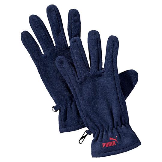 Перчатки PUMA Snow Fleece GlovesТеплые аксессуары<br>Перчатки PUMA Snow Fleece Gloves<br>Флисовые перчатки на застежке-липучке для точной подгонки по размеру, тисненый логотип PUMA No.1 из прорезиненной ткани на лицевой стороне.<br><br>Коллекция: Осень-зима 2016<br>Материал: 100% полиэстер<br>Страна-производитель: Нидерланды<br><br><br>size RU: L/XL<br>gender: Unisex