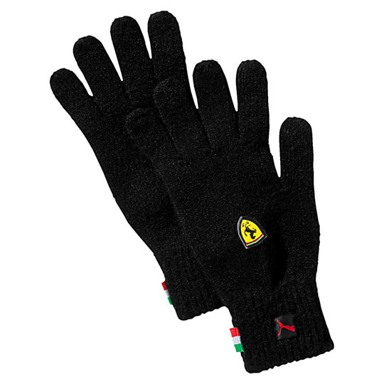Перчатки Ferrari Fanwear GlovesТеплые аксессуары<br>Перчатки Ferrari Fanwear GlovesУдобные трикотажные перчатки из коллекции Ferrari надежно защитят руки в холодную погоду.Коллекция: Осень-зима 2016Материал: 97% акрил, 3% эластанТонкий трикотаж с эластичными манжетами контрастного цветаТканая эмблема итальянского флагаЦветной объемный логотип FerrariСтрана-производитель: Китай<br><br>size RU: 19.5<br>gender: Unisex