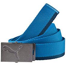 Webbing belt.