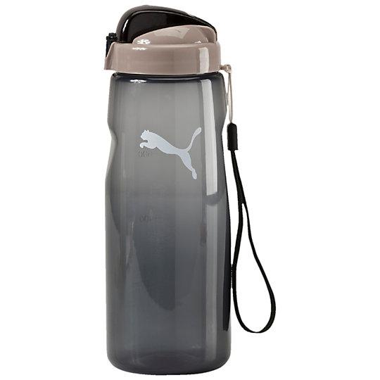 Бутылка для воды PUMA Lifestyle Water BottleСпортивные аксессуары<br>Бутылка для воды PUMA Lifestyle Water BottleБутылка для воды PUMA Lifestyle Water Bottle будет по достоинству оценена ведущими активный образ жизни людьми. Выполненная из качественных материалов, она оснащена удобным для питья носиком и ручкой для удобства транспортировки. Незаменима для спортсменов, занимающихся в спортивных залах и на свежем воздухе, бегунов, атлетов. Бутылка рассчитана на жидкости, температура которых не превышает 50°C. Оформлена логотипом PUMA Cat. Коллекция: Осень-зима 2016Размер: диаметр 8 см, высота 24 смСостав:  90% полипропилен, 5% AS Lid, 5% нейлонЦвета: черный, голубой, фиолетовый, красныйСтрана-производитель: Китай<br><br>color: черный<br>size RU: OSFA<br>gender: Unisex