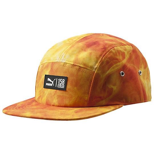 プーマ ALIFE キャップI ユニセックス grenadine-fire AOP【帽子  メンズ 帽子  その他】PUMA プーマ【サイズ AD/レッド】メンズ  アクセサリー  帽子