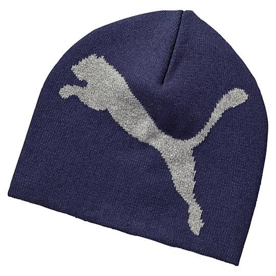 Шапка ESS Big Cat BeanieТеплые аксессуары<br>Шапка ESS Big Cat BeanieУдобная вязаная шапка согреет вас холодным осенним или зимним днем.Коллекция: Осень-зима 2016Состав: 60% хлопок, 40% акрилДва слоя для лучшего утепления и комфортаВязаный логотип PUMAСтрана-производитель: Китай<br><br>size RU: Взрослый<br>gender: Unisex