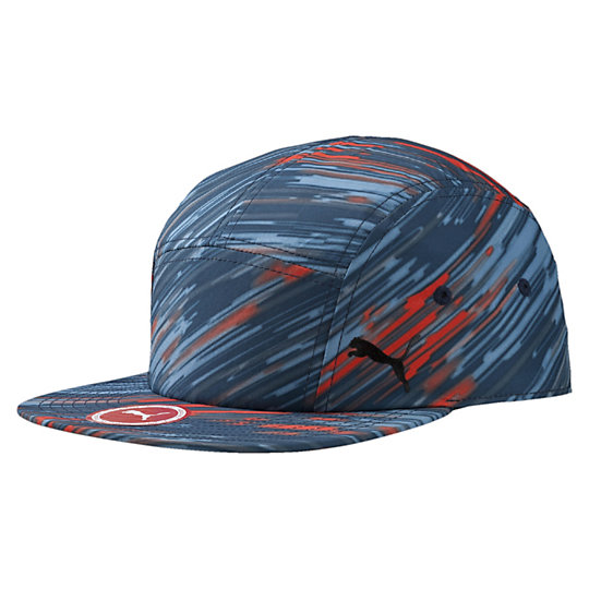 プーマ AOP 5パネルキャップ ユニセックス peacoat【帽子  メンズ 帽子  その他】PUMA プーマ【サイズ AD/ブルー】メンズ  アクセサリー  帽子