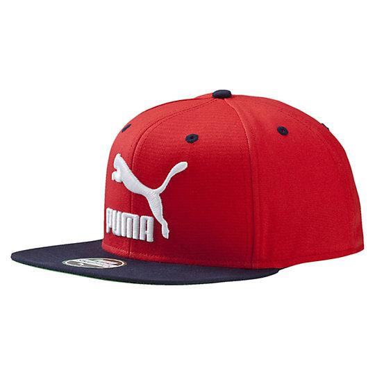 プーマ カラフルブロックスナックバックキャップ ユニセックス high risk red【帽子  メンズ 帽子  その他】PUMA プーマ【サイズ AD/レッド】メンズ  アクセサリー  帽子