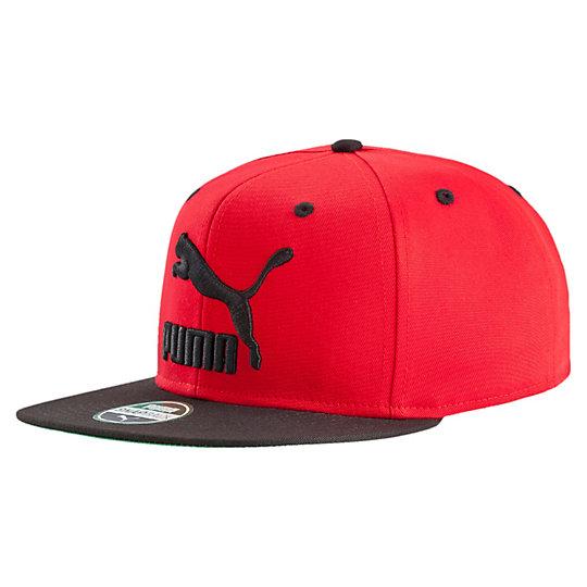 プーマ カラフルブロックスナックバックキャップ ユニセックス Barbados Cherry-Puma Black【帽子  メンズ 帽子  その他】PUMA プーマ【サイズ AD/ブラック】メンズ~~アクセサリー~~帽子
