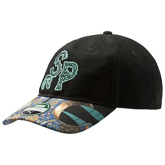 プーマ SWASH キャップ ユニセックス black-samovar emerald AOP【帽子  メンズ 帽子  その他】PUMA プーマ【サイズ AD/ブラック】メンズ  アクセサリー  帽子