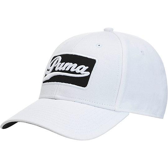 プーマ グリーンズキーパー アジャスタブル キャップ メンズ white-black【帽子  メンズ 帽子  その他】PUMA プーマ【サイズ F/ホワイト】メンズ  アクセサリー  帽子