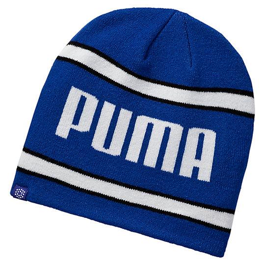 プーマ ゴルフスクリプトPWRWARMビーニー メンズ Surf The Web-Puma White-Puma Black