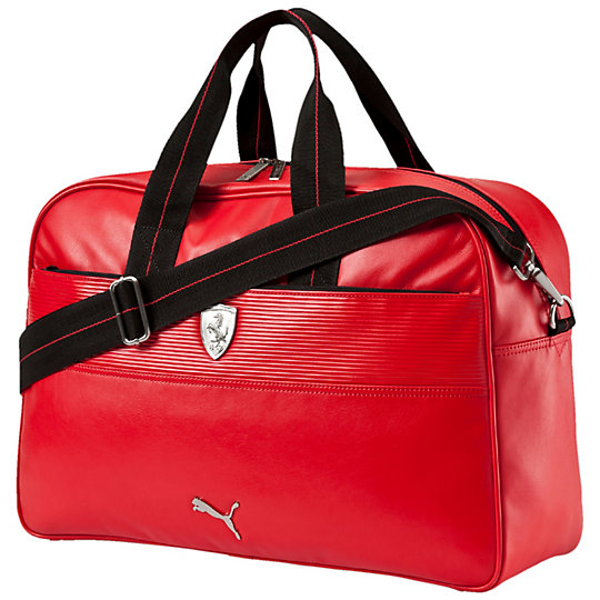 Model Puma Duffels Totes Puma Ferrari Weekender Bag Colour Details Ferrari