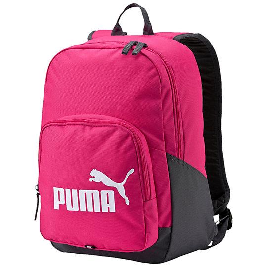 Рюкзак PUMA Phase BackpackРюкзаки<br>Рюкзак PUMA Phase BackpackВ рюкзаке PUMA Phase Backpack поместится все ваше снаряжение. Для большего удобства предусмотрено несколько карманов, а стильный дизайн подчеркнет ваш вкус. Коллекция: Весна-лето 2016  Двусторонняя застежка-молния для главного отделения Молния на переднем отделении Полиэстер с подкладкой из полиуретана Смягченные регулируемые иозгнутые лямки Ручка из тканой ленты для переноски Мягкая спинка для оптимального комфорта Металлическая собачка на молнии с тканой лентой Отражающая полоска спереди Размеры: 31.5 x 43 x 13.5 cм (20 л)<br><br>color: фиолетовый<br>size RU: OSFA<br>gender: Unisex