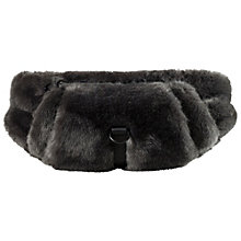 FUR WAISTBAG