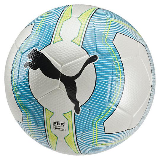 Футбольный мяч evoPOWER Vigor 2.3 MatchСпортивные аксессуары<br>Футбольный мяч evoPOWER Vigor 2.3 Match<br>Когда разница между вторым местом и победой составляет всего секунду, используйте все возможные преимущества — в том числе качественный мяч. Покрышка футбольного мяча evoPOWER 2.3 Match Soccer Ball выполнена из полиуретана, подложка — из пластика EVA. Камера из качественной резины дополнена клапаном PUMA Air Lock, надежно удерживающим воздух. Прибавит силы вашему удару в нужный момент и именно в том месте, где это нужно: evoPOWER 2.3 Match — мяч высшего качества, одинаково подходящий для тренировок и матчей. Прочная конструкция из 32 составных частей, изготовленных методом высокочастотного прессования, отлично сохраняет форму и впитывает меньше влаги, поднимая скорость и точность вашего удара на новый уровень.<br><br>Коллекция: Осень-зима 2016<br>Материал: Полиуретановая оболочка 1 мм<br>Технологии: Технология баланса периметра (PBT) оптимизирует полет мяча Вид спорта: Футбол<br>Конструкция из 32 составных частей, изготовленных методом высокочастотного прессования<br>Стабилизирующая пена POE и подложка из полиэстера<br>Технология баланса периметра (PBT) оптимизирует полет мяча<br>Клапан PUMA AIR LOCK надежно удерживает воздух в камере<br>Поставляется в полиэтиленовом пакете с иглой для подкачки в комплекте<br>Страна-производитель: Гонконг<br><br><br>size RU: 5<br>gender: Male