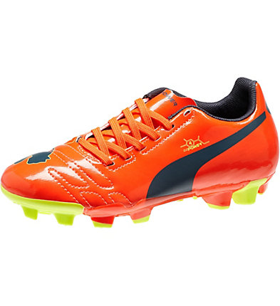 evoPOWER 4 FG JR Firm Ground Soccer Cleats