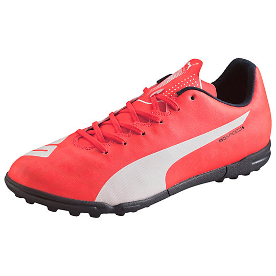 ����� evoSPEED 5.4 TT - Puma��� �������<br>����� evoSPEED 5.4 TT ������� (�����������) �� ������� ���������� ����� EvoSPEED �� PUMA. ����������� ���� �������� � ���� ��������� � ������� �� ������ ��������, ������������� ����������� ������� ������� evoSPEED 1.4. ������ � ������� ������������� ���� � ��������� � ������ ��������� ��������� ������� ������� �� ����.    evoSPEED 5.4 TT � ������������� � ������������ �����, ������� �������� ��� ���� �� ������������� ��������, ����� ��� �����. ������ �������� ������� PUMA.�����: �����-���� 2015 ����������, �� ��� ���� ������� ������������� ���� (PU), ������������ ���������� ������������ ������������������ �� ������ �������� ��������� ������ ������������ ��������� ����������������� ��������� ������� ������������ �������� ��������� � �����<br><br>color: �����<br>size US: 42.5<br>gender: Male