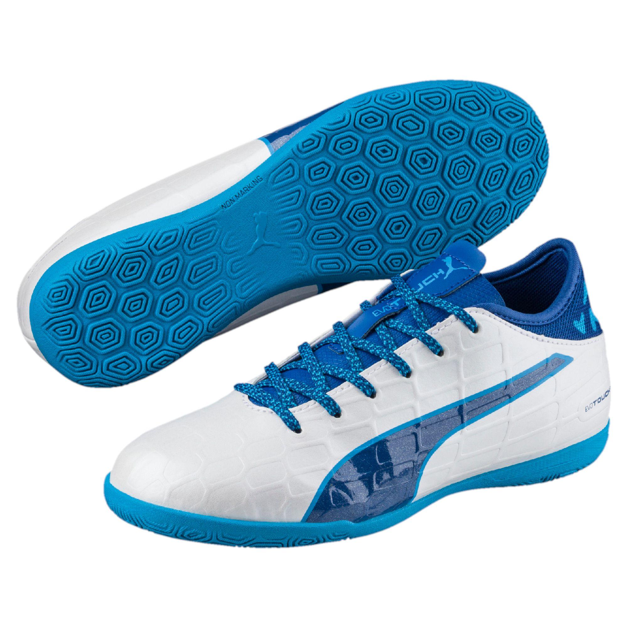 PUMA evoTOUCH 3 IT Kinder Indoor-Trainingsschuhe Unisex Schuhe Fußball Neu