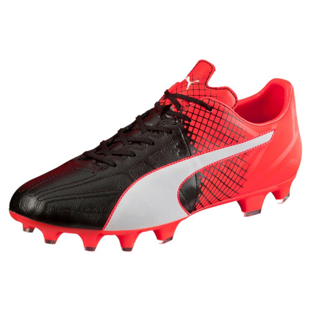 PUMA evoSPEED 3.5 Leather FG Men's Firm Ground Soccer ...