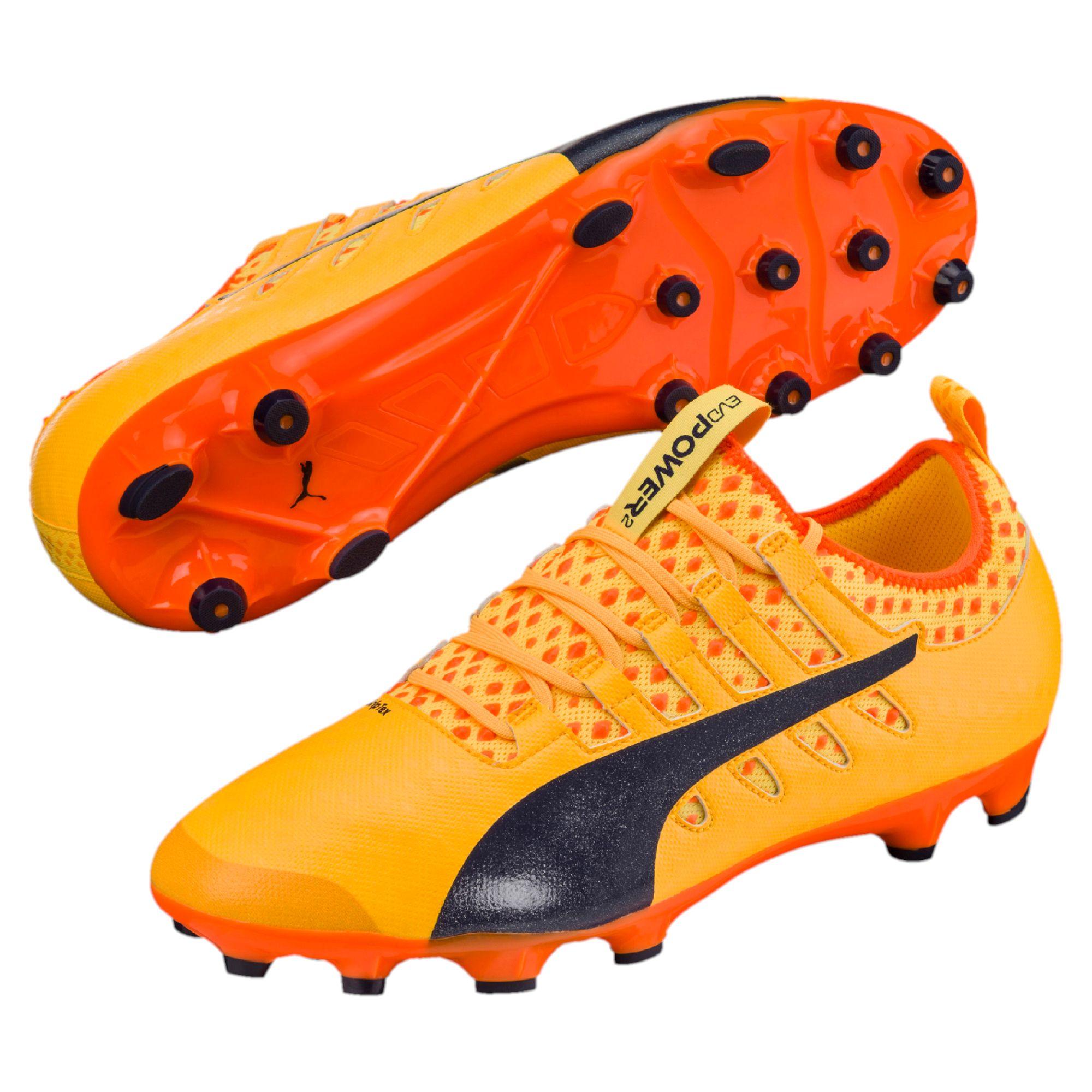 PUMA-evoPOWER-Vigor-2-AG-Men-s-Football-Boots-Hombre-Zapatos-Futbol-Nuevo miniatura 8