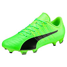 evoPOWER Vigor 3 Leather FG Men's Football Boots