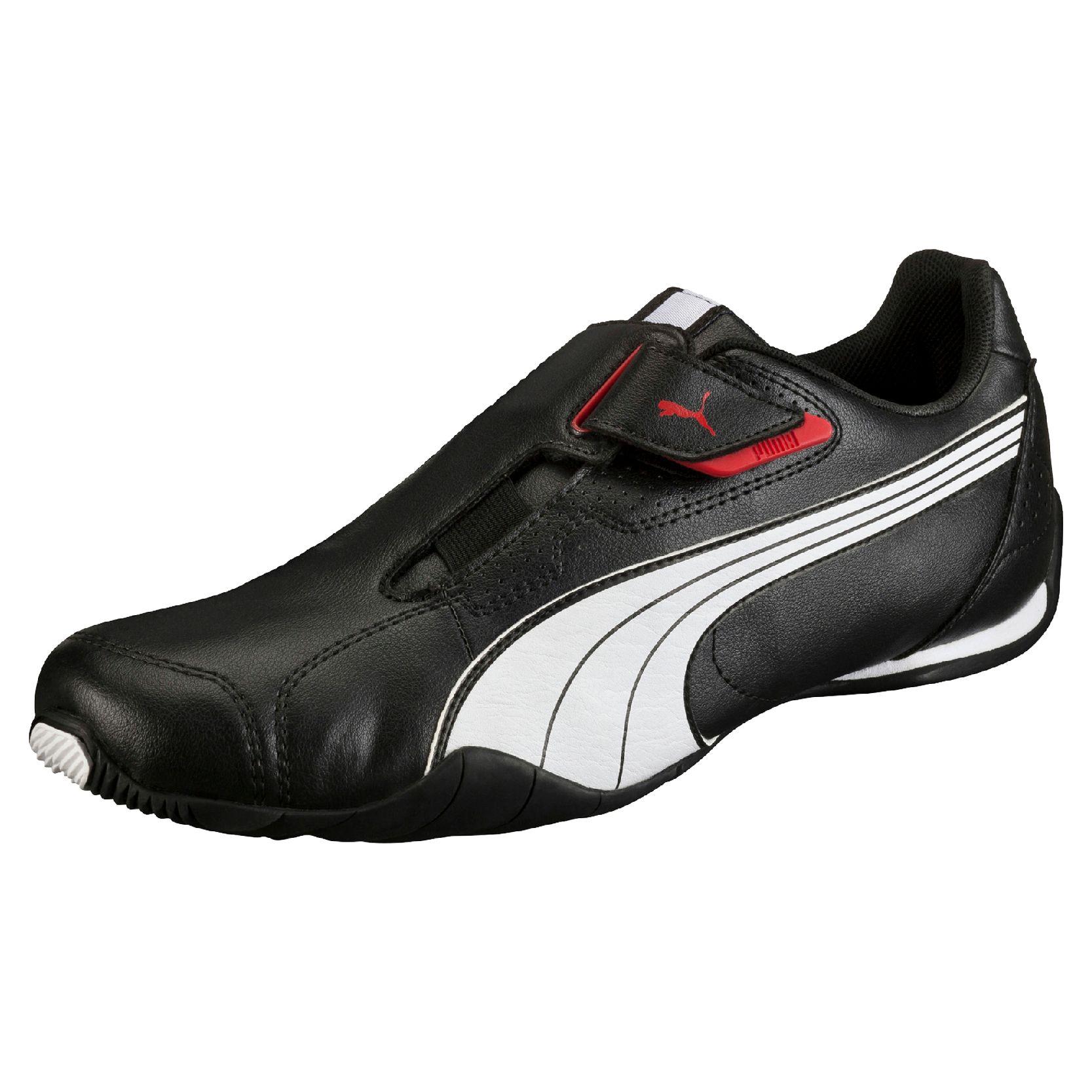 Puma Redon Move Sneaker Herren Schuhe 185999 black white high risk red 02