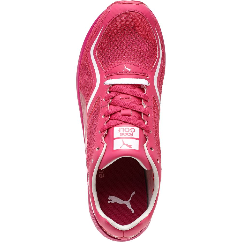 Womens Pink Puma Golf Shoes