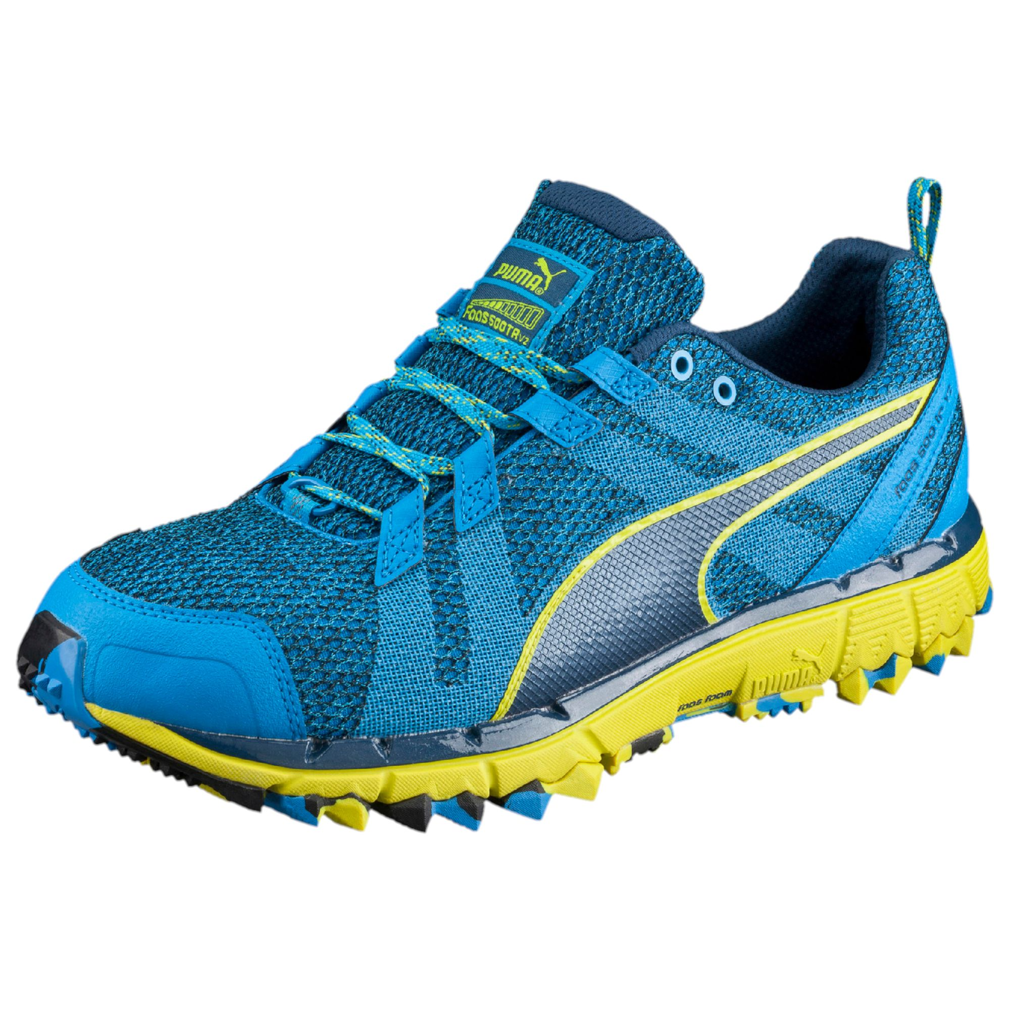 Carries New Men Puma Faas 500 v2 Running Shoes Blue - G9T98H5287