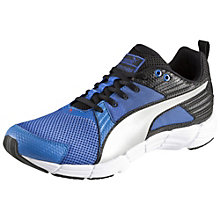 Synthesis running shoes.