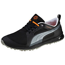 Biofly mesh golf shoes.