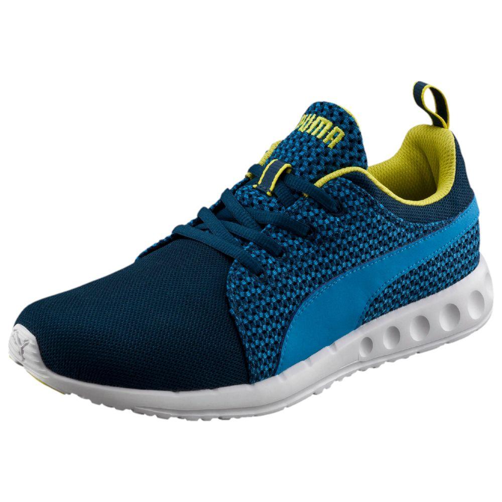 puma carson runner knit men 39 s running shoes ebay. Black Bedroom Furniture Sets. Home Design Ideas