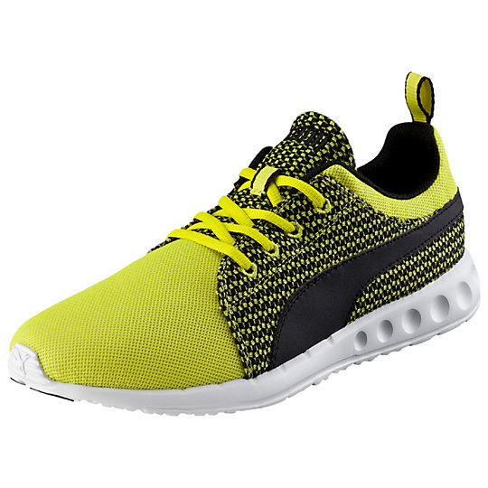��������� Carson Runner Knit - Puma��� ����<br>��������� Carson Runner Knit ������� ��������� ���������� ������ Carson Runner Knit �� PUMA - ����� �����, ������� ����� � ����� �� ������ ��������, �� � �������� ������. ����, ����������� �� ��������� ��������� ���� ������, ������� ���������� ������������ ������� ��� � ������������ ������� ���������� �������. ������������� ������� �� EVA ������� ��������������� �������� � �����������. ������� �������� ��� ��� ������� � �������������� ����������, ��� � ��� ������������ �����.�����: �����-���� 2015 �������������� � ��������� ��������� �������, ����������� �� ���������� EverTrack,��������� Neutral � ������������� ���������<br><br>color: ������<br>size US: 44.5<br>gender: Unisex