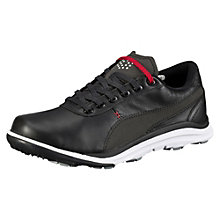 Biodrive leather wide golf shoes.
