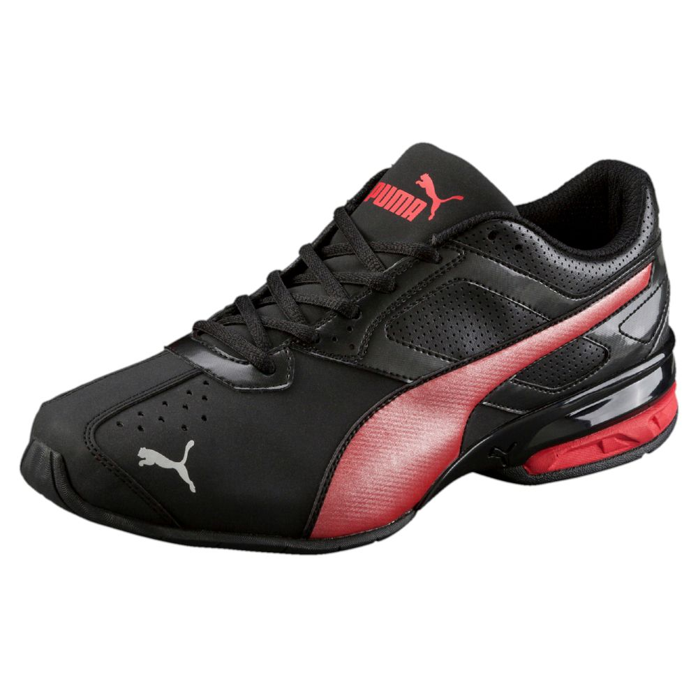 Red Black Running Shoes