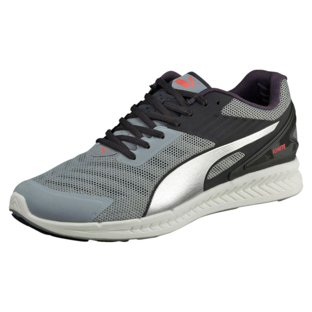 Puma Ignite Xt V Round Toe Synthetic Running Shoe