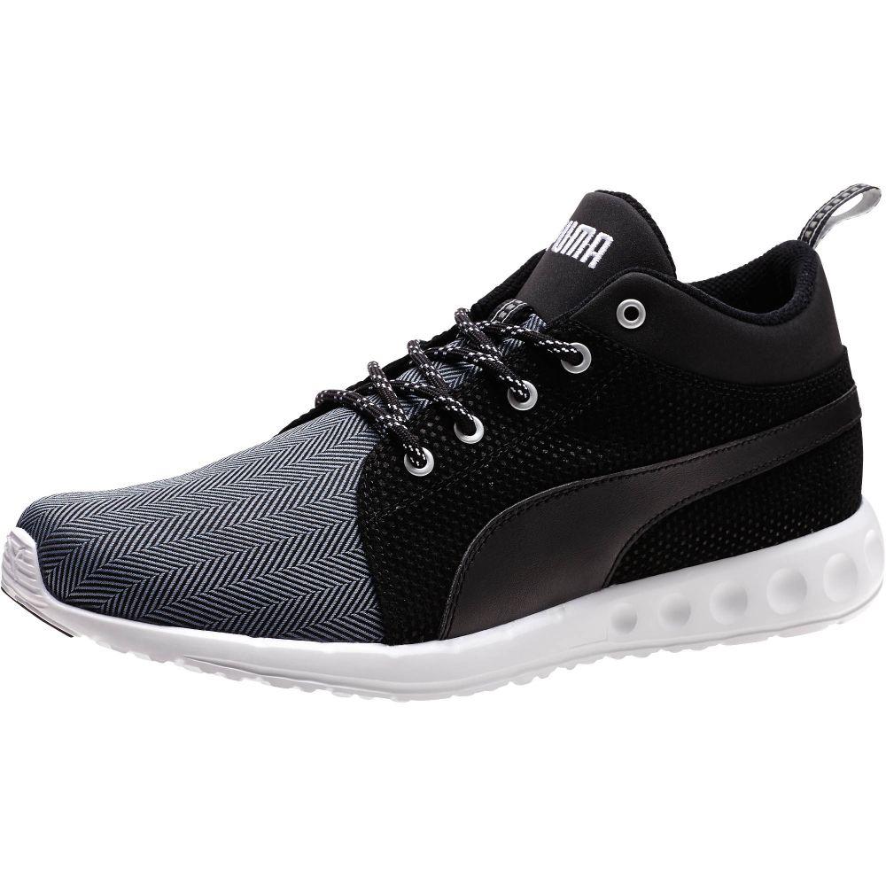 puma carson runner herring men 39 s mid running shoes ebay. Black Bedroom Furniture Sets. Home Design Ideas