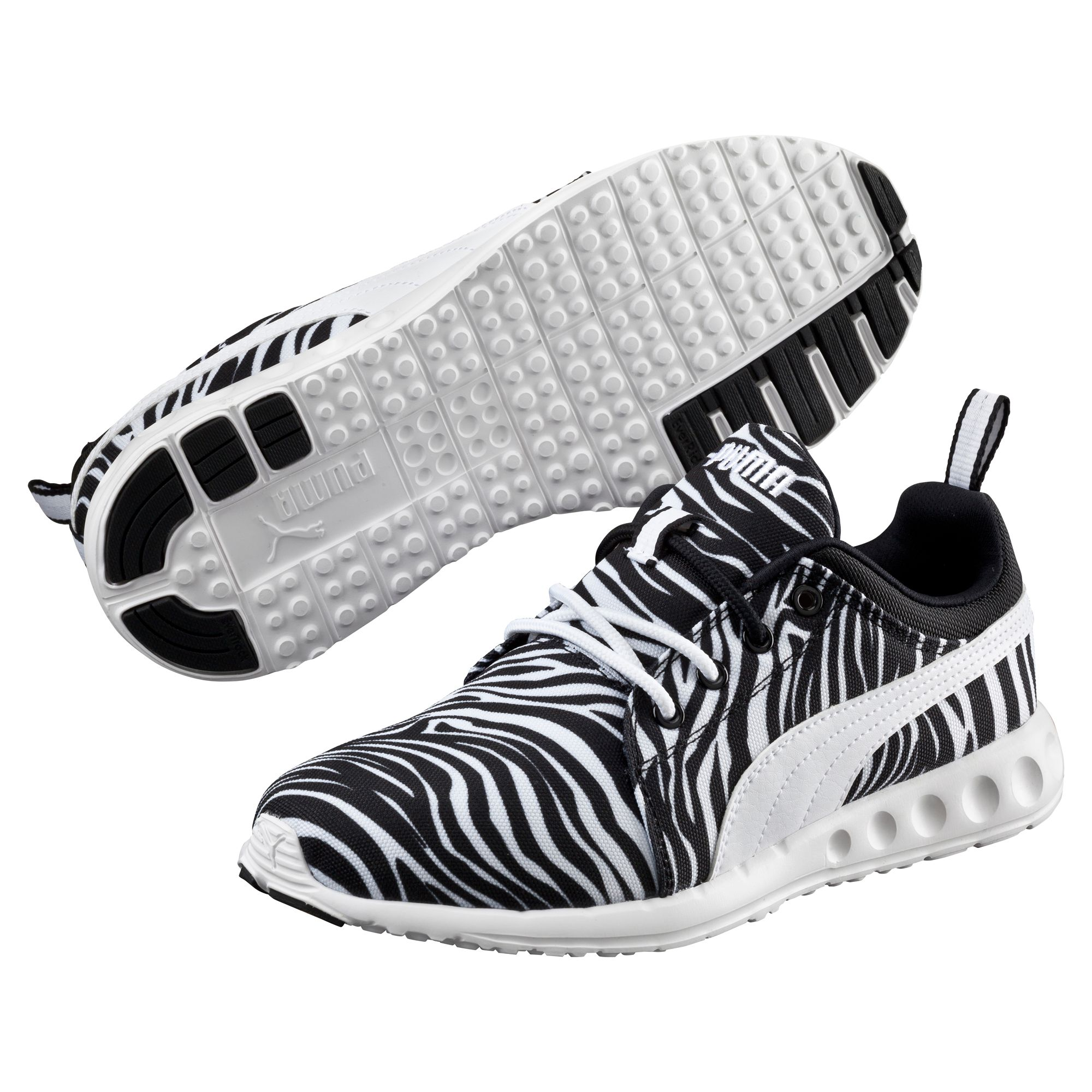 puma carson runner zebra damen laufschuhe laufen schuhe. Black Bedroom Furniture Sets. Home Design Ideas