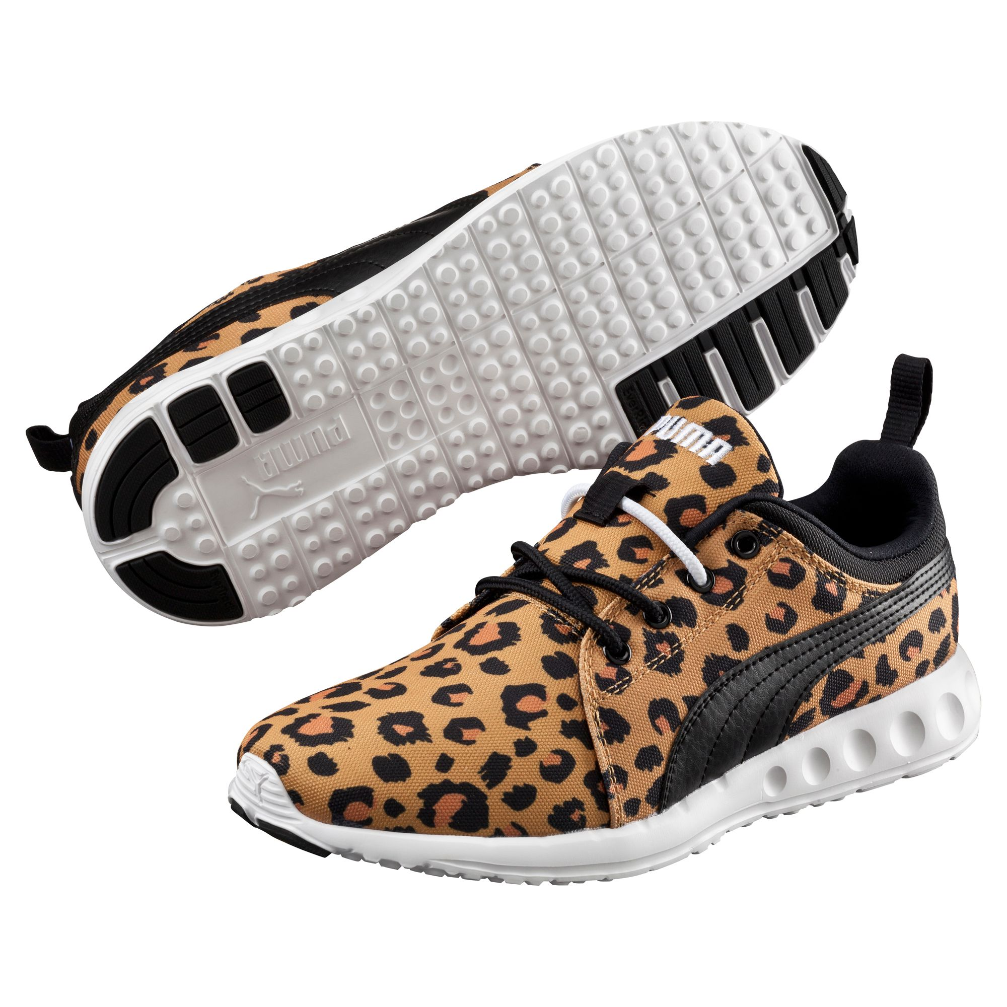 puma carson runner cheetah damen laufschuhe laufen schuhe. Black Bedroom Furniture Sets. Home Design Ideas