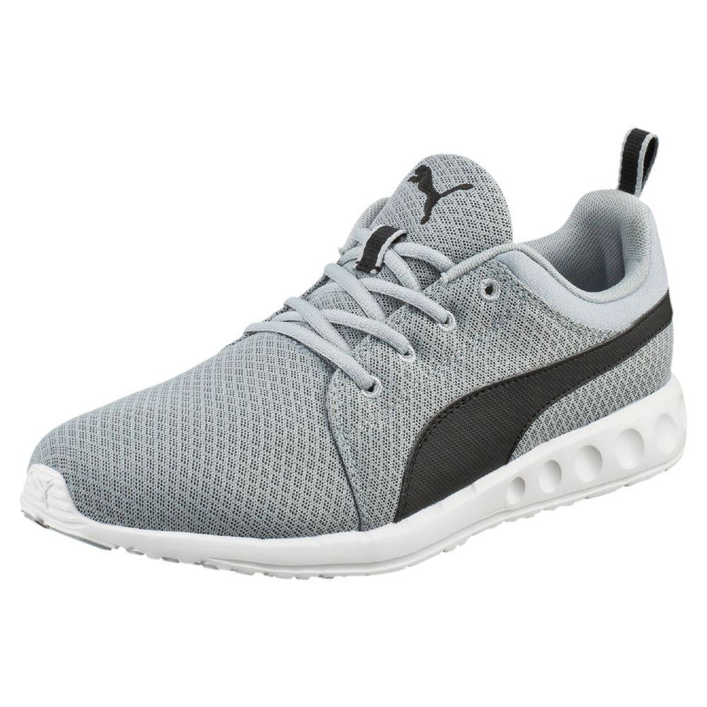 Puma Gray Running Shoes