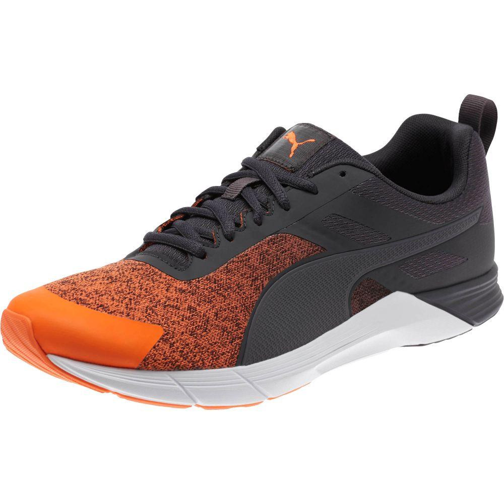Puma Propel Heather Men's Running Shoes (Asphalt/Shocking Orange)