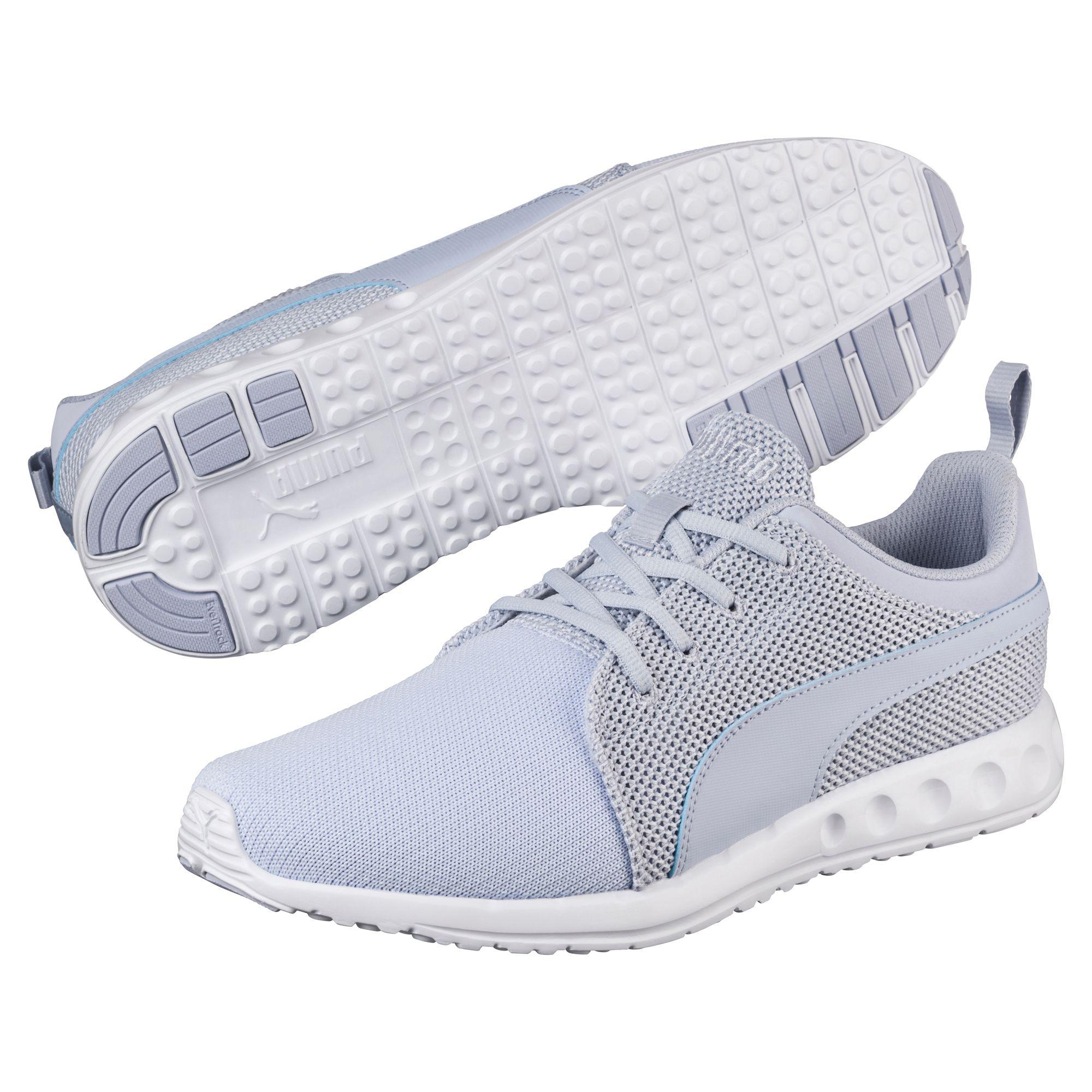 Puma chaussure de course carson runner knit pour homme unisexe chaussures neuf ebay - Chaussure pour tapis de course ...